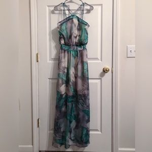 Charming Charlie Flowy Butterfly Maxi